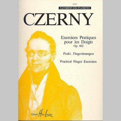 Czerny : Exercices Pratiques Op.802 - Partitions