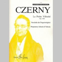 Czerny : Petites Études De La Vélocité Op.636 - Partitions