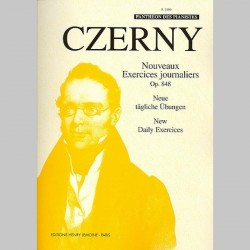 Czerny : Nouveaux Exercices Journaliers Op.848 - Partitions