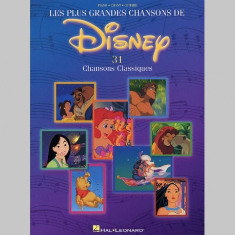 Disney Les Plus Grandes Chansons De Disney - Partitions