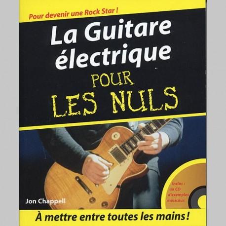 La Guitare Eléctrique Pour Les Nuls - Livre et Cd