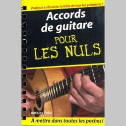 Accords De Guitare Pour Les Nuls - Livre