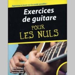 Exercices De Guitare Pour Les Nuls - Partitions et CD