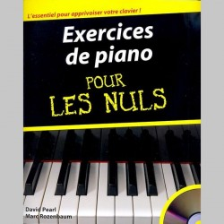 Exercices De Piano Pour Les Nuls - Partitions et CD