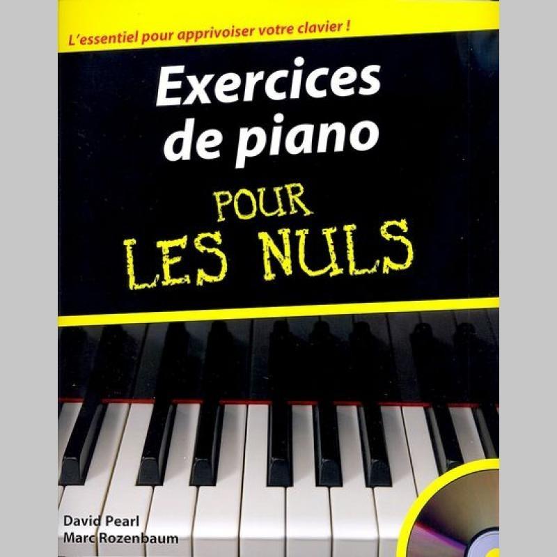Exercices De Piano Pour Les Nuls Partitions Et Cd