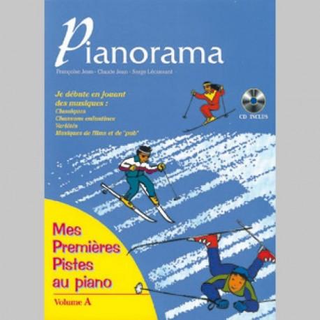 Pianorama, Mes premières pistes avec CD