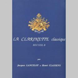 Jacques Lancelot: La Clarinette Classique Vol.B - Livre