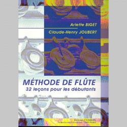 Arlette Biget: Methode De Flute volume 1- Partitions