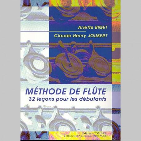 Arlette Biget: Methode De Flute volume 1- Partitions