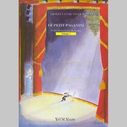 Ernest Van de Velde : Petit Paganini Vol.1 - Partitions