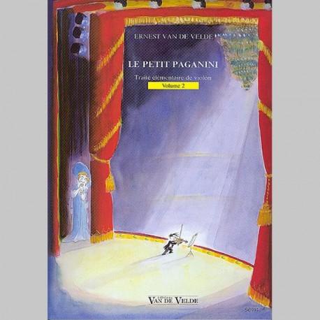 Ernest Van de Velde : Petit Paganini Vol.2 - Partitions