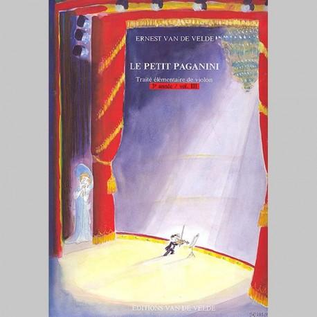 Ernest Van de Velde : Petit Paganini Vol.3 - Partitions