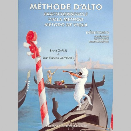 Bruno Garlej : Méthode D'Alto Vol.1 - Partitions