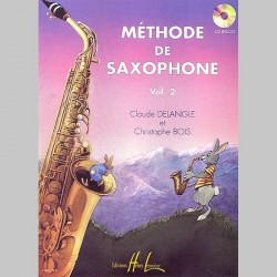 Claude Delangle : Méthode De Saxophone Vol.2 - Partitions et CD