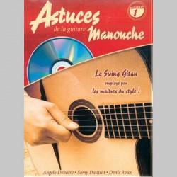 D. Roux A. Debarre, S. Daussat: Les Astuces De La Guitare Manouche (Vol. 1) - Partitions et CD