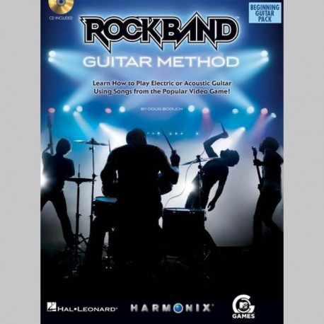 Rock Band: Beginning Guitar Pack - Partitions et CD