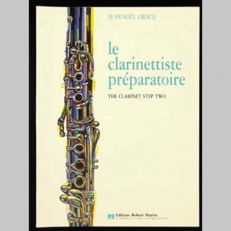 CROCQ Jean-Noël Le Clarinettiste préparatoire