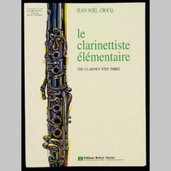 CROCQ LE CLARINETTISTE ELEMENTAIRE