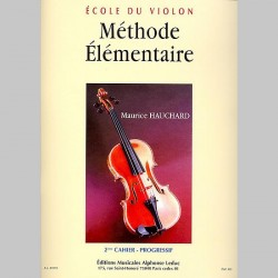 Maurice Hauchard: Methode Elementaire - 2eme Cahier - Partitions