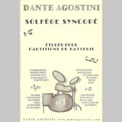 Dante Agostini: Syncopated Solfeggio No.1 - Partitions