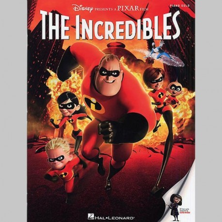 DISNEY The Incredibles: Piano Solo Selections - Partitions