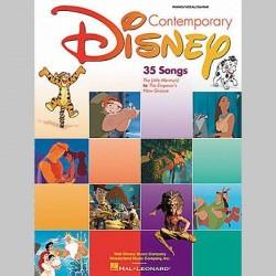 DISNEY Contemporary Disney - Second Edition - Partitions
