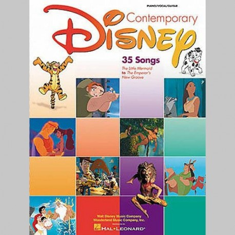 DISNEY Contemporary Disney - Second Edition - Partitions