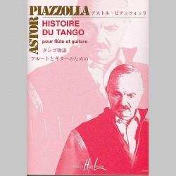 Astor Piazzolla : Histoire Du Tango(Flute et Guitare) - Partitions