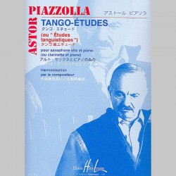 Astor Piazzolla : Tango - Etudes (Alto Saxophone And Piano) - Partitions