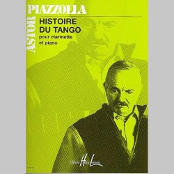 Astor Piazzolla : Histoire Du Tango - Partitions (Clarinette)