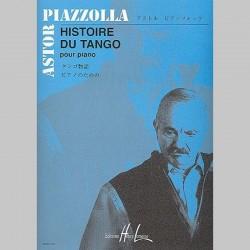 Astor Piazzolla : Histoire Du Tango - Partitions (PIiano)