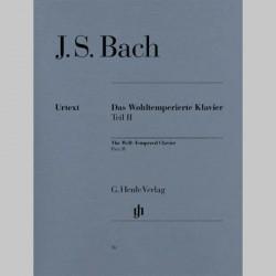 Bach J. S. Le Clavier bien tempéré II BWV 870-893