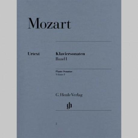 MOZART: Sonates pour piano, volume I