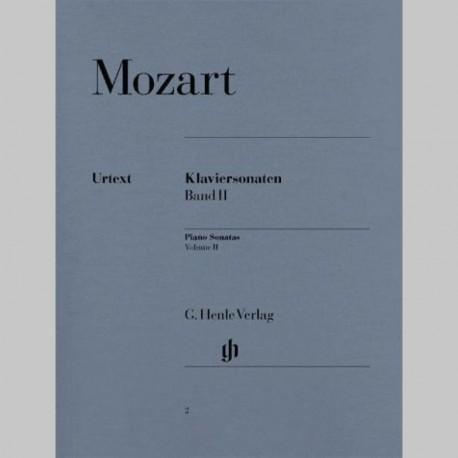 MOZART: Sonates pour piano, volume II