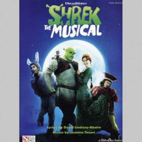 SHREK THE MUSICAL VOCAL SELECTIONS