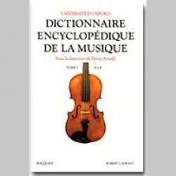 DICTIONNAIRE ENCYCLOPÉDIQUE DE LA MUSIQUE - T2