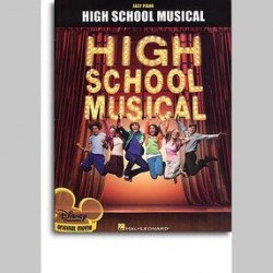 High School Musical - Selections (Easy Piano) ~ Songbook Mixte (Piano Solo (Symboles d'Accords))