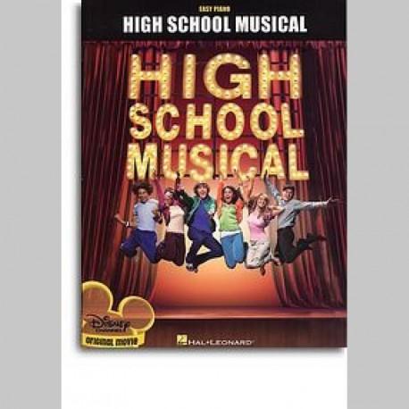 High School Musical - Selections (Easy Piano) ~ Songbook Mixte (Piano Solo (Symboles d'Accords))
