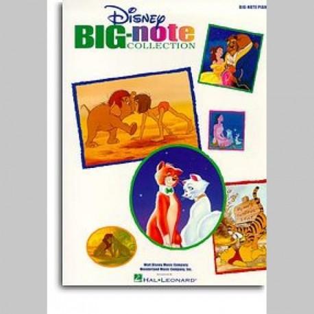 Disney Big-Note Collection For Piano ~ Songbook Mixte (Piano Solo)