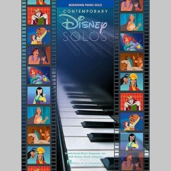 Disney Contemporary Disney Solos (Beginning Piano Solo) ~ Album Instrumental (Piano Solo)