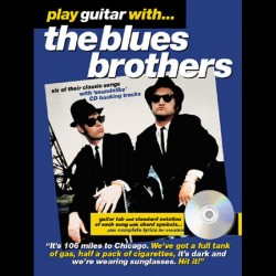 Play Guitar With... The Blues Brothers~ Morceaux d'Accompagnement (Tablature Guitare (Symboles d'Accords))