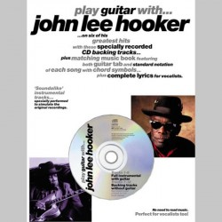 Play Guitar With... John Lee Hooker~ Morceaux d'Accompagnement (Tablature Guitare (Symboles d'Accords))