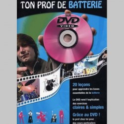 TON PROF BATTERIE + DVD