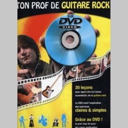 TON PROF GUITARE ROCK + DVD