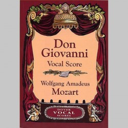 Mozart: Don Giovanni (Vocal Score) - Dover Edition~ Partitions Vocale (Opéra)