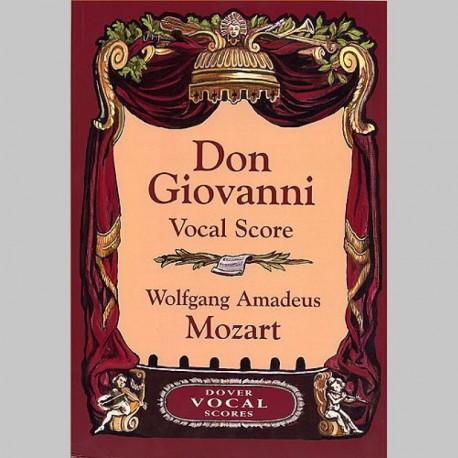 Mozart: Don Giovanni (Vocal Score) - Dover Edition~ Partitions Vocale (Opéra)