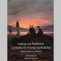 Beethoven: Complete Piano Sonatas - Volume I (Dover Edition)~ Album Instrumental (Piano Solo)