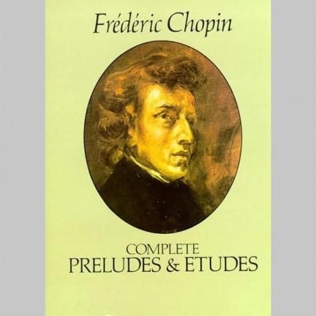 Chopin: Complete Preludes And Etudes~ Album Instrumental (Piano Solo)
