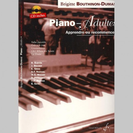 Brigitte Bouthinon-Dumas: Piano-Adultes~ Oeuvre Instrumentale (Tous Les Instruments)