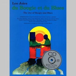 Les Joies Du Boogie Et Du Blues (Avec CD)~ Album Instrumental (Piano Solo)